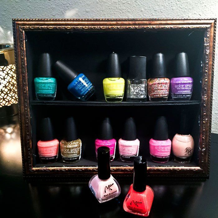 25+ Best Ideas About Nail Polish Stand On Pinterest