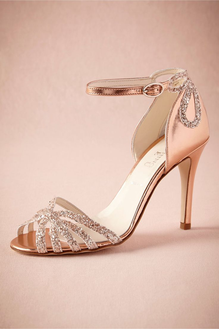63 best images about rose gold wedding colors on pinterest for Gold dress shoes for wedding