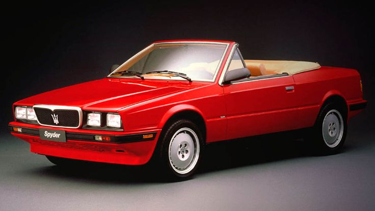 1984 Maserati Biturbo.  The Biturbo was fast and beautiful, but never got much respect.  BB