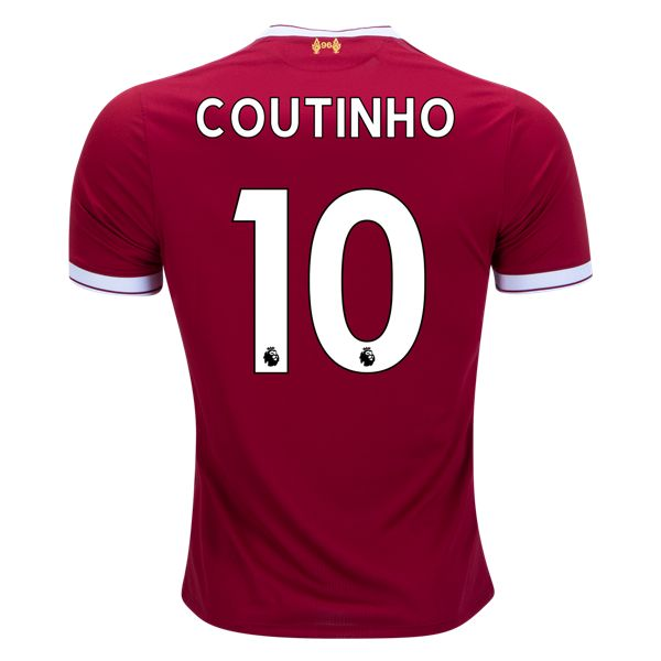 New Balance Philippe Coutinho Liverpool Home Jersey 17/18