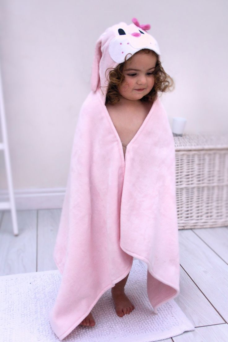 Bunny Toddler Towel Kids Baby Hooded Towels Toddler Towels