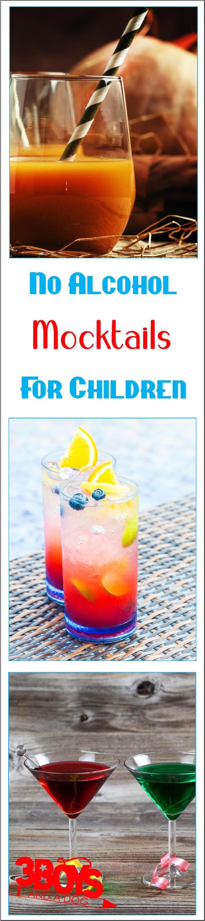 From sparkling drinks to creamy beverages, these mocktails for kids mimic their alcohol-infused counterparts, but are safe for most children and pregnant women!