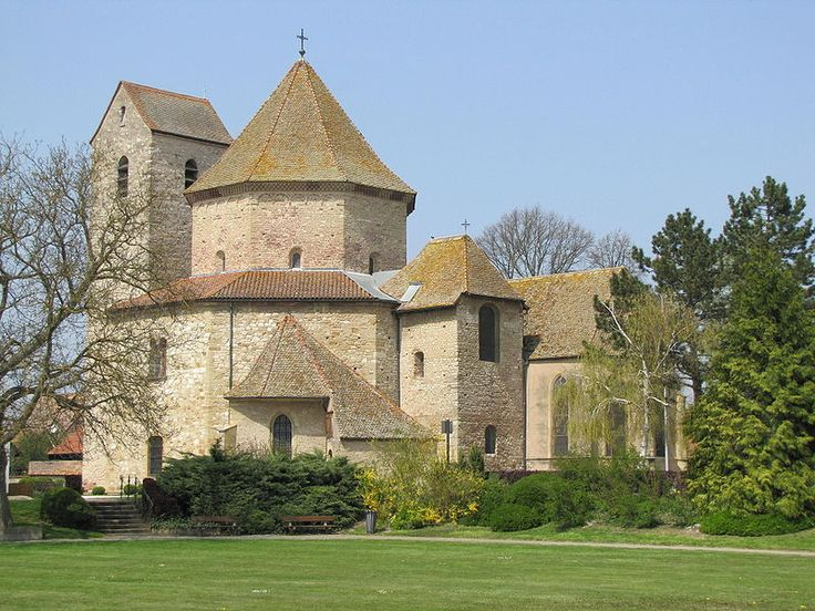 Alsace haut rhin ottmarsheim eglise abbatiale romane for Architect search