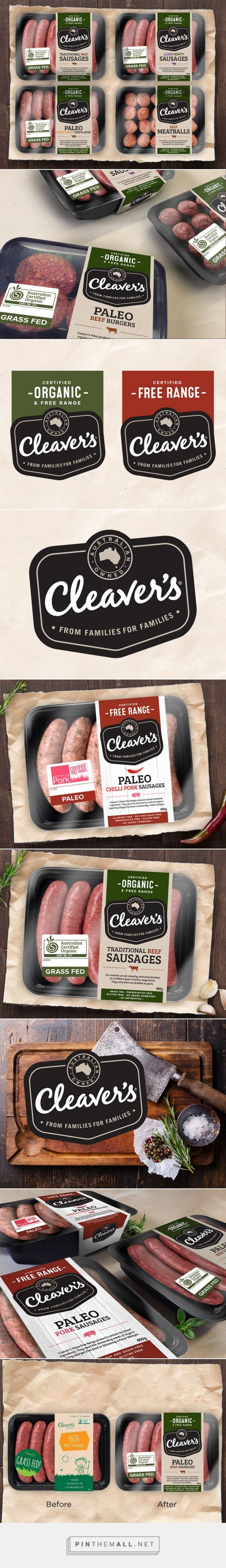 Cleaver's - Packaging of the World - Creative Package Design Gallery - http://www.packagingoftheworld.com/2016/05/cleavers.html