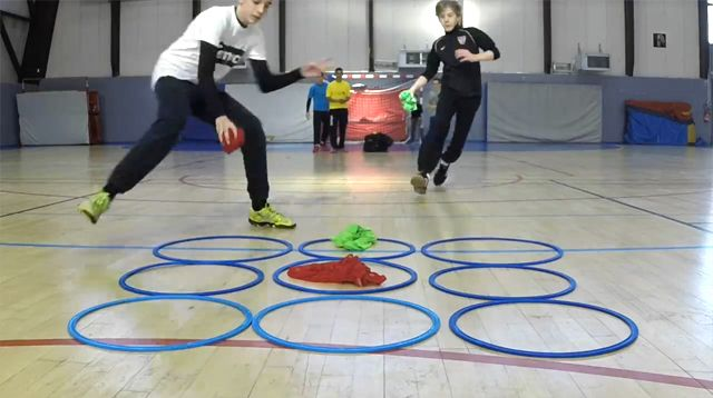 Tic Tac Toe isn't just a mental game anymore, it's a physical one too!