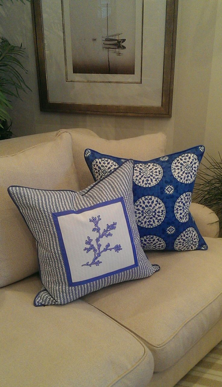 pillow bedrooms images beachblisslivin throw beach pillows pinterest best blue on collection sanibel