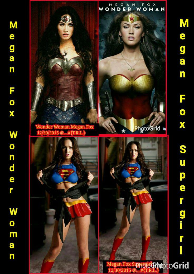 Megan Fox Wonder Woman 6/17/2016 ®....#{T.R.L.}