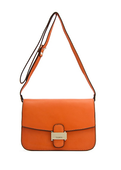 MANGO - BAGS - Leather bags - TOUCH - Leather messenger bag