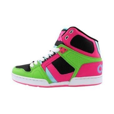 Osiris Nyc  Mid Shr Shoes Black Black Gum