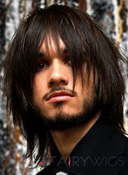 Beautiful Short Black Remy Hair Mens Wigs Human For Men Pinterest Styles And