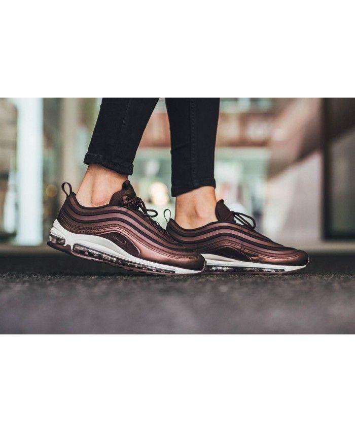 701a527578f5 Nike Air Max 97 Ultra Metallic Mahogany Shoes