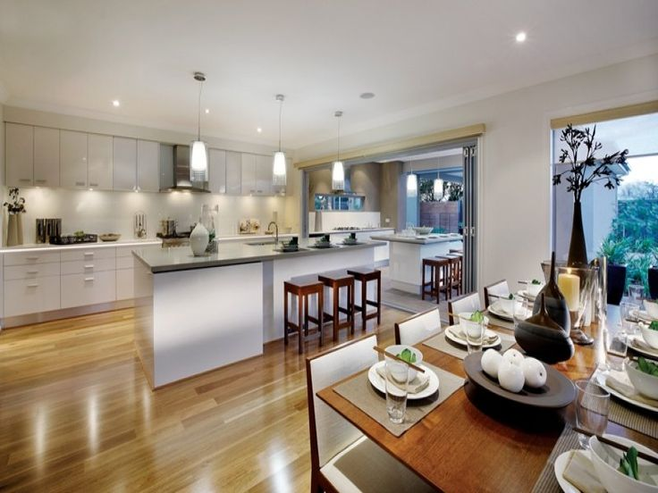 Brown dining room idea from a real Australian home - Dining Room photo 275078