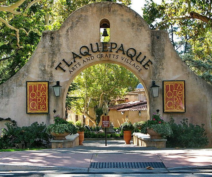 In The Evening Visit Tlaquepaque Arts Crafts Village Fashioned After A Traditional