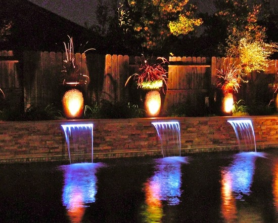 feature lighting ideas. Build This But Circular Planter Feature Lighting Ideas E