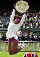 Serena Williams alcanza a Venus con su quinto Wimbledon