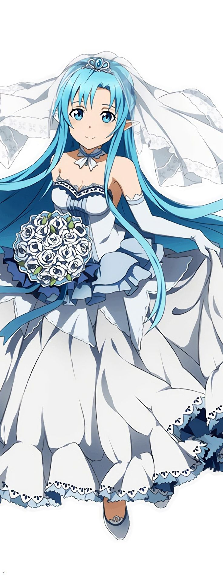 """Sword Art Online, Asuna, official art  USE CODE """"PIN5"""" TO RECEIVE 5% OFF Shop now at www.animecart.com"""
