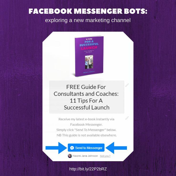 Blog post: Facebook Messenger Bots - Exploring A New Marketing Channel