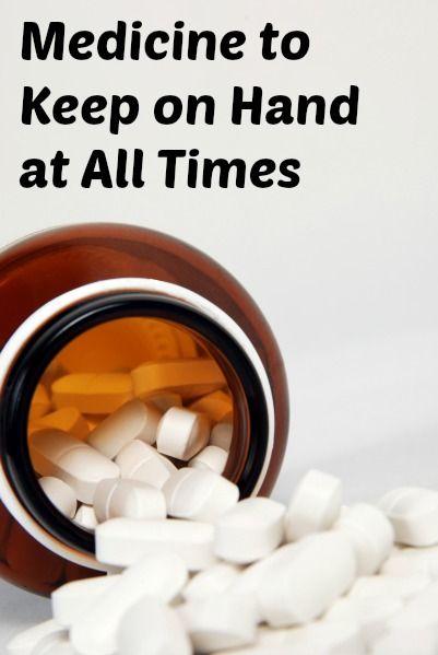 OTC Medicines to Keep on Hand
