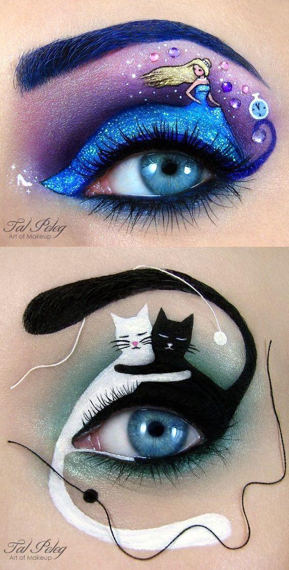 Erstaunliche Augen Makeup Designs von Tal Peleg