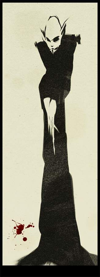 Nosferatu. Artist: Leonid Bloommer