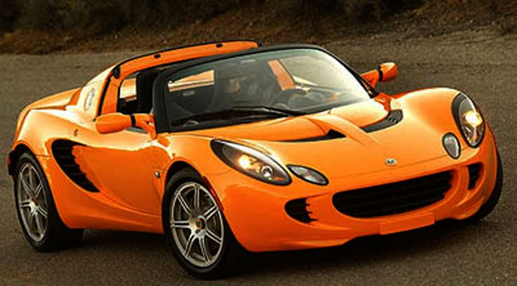 OK I admit it...I want a Lotus Elise.  The thing looks crazy fun.