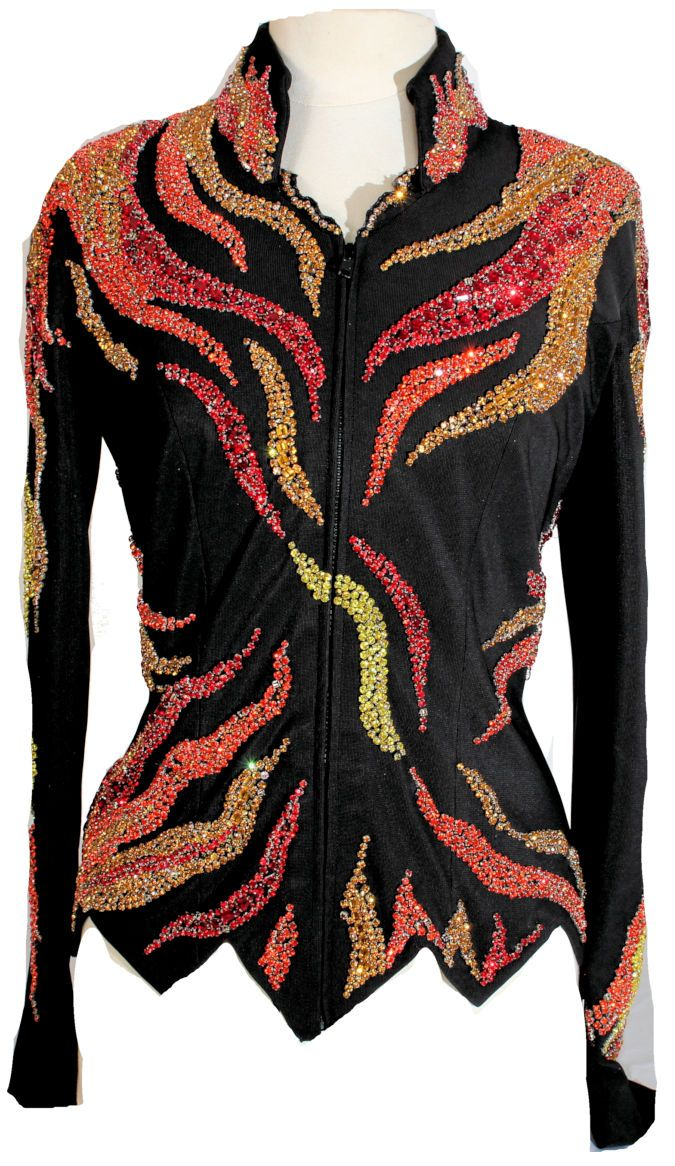 G- Showtime Orange Red Flame Jacket and Pant – Showtime Show Clothing