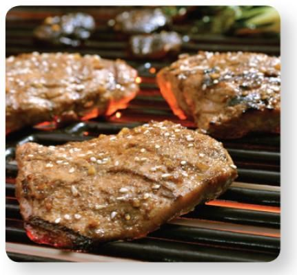 Garlic-Sesame Turkey Steaks Recipe. Use gluten free soy sauce.