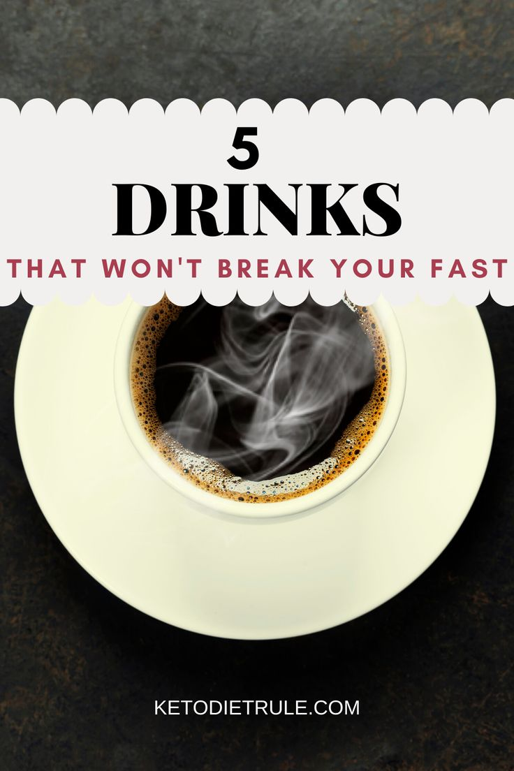 Can you drink coffee while doing intermittent fasting