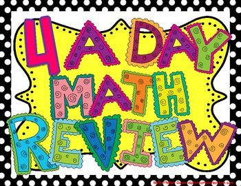 This is a daily math reivew designed for my 4th graders, but it could easily be used for grades 3-5. Repetition and review is the reason behind thi...: Grade Math, Fourth Grade, Grade Stuff, Math Teacher, Grade Fun, 4Th Graders, Future Teacher, Grades 3 5, Number