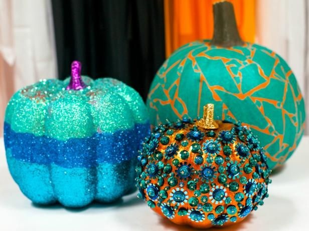 Halloween can be hard for children with food allergies. A teal pumpkin on your door step lets them know you have non-food treats. DIY Network has clever ideas for creating teal pumpkins.