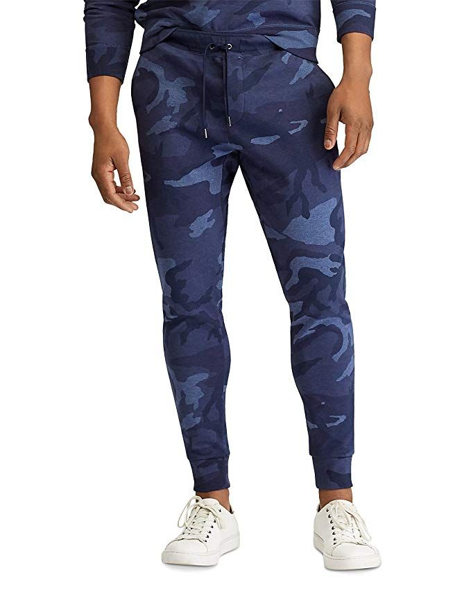RALPH LAUREN Polo Men s Camo Double-Knit Jogger Sweatpants Review ... 9147c8c42