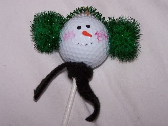 We have a million golf balls lying around. Now I can use them...