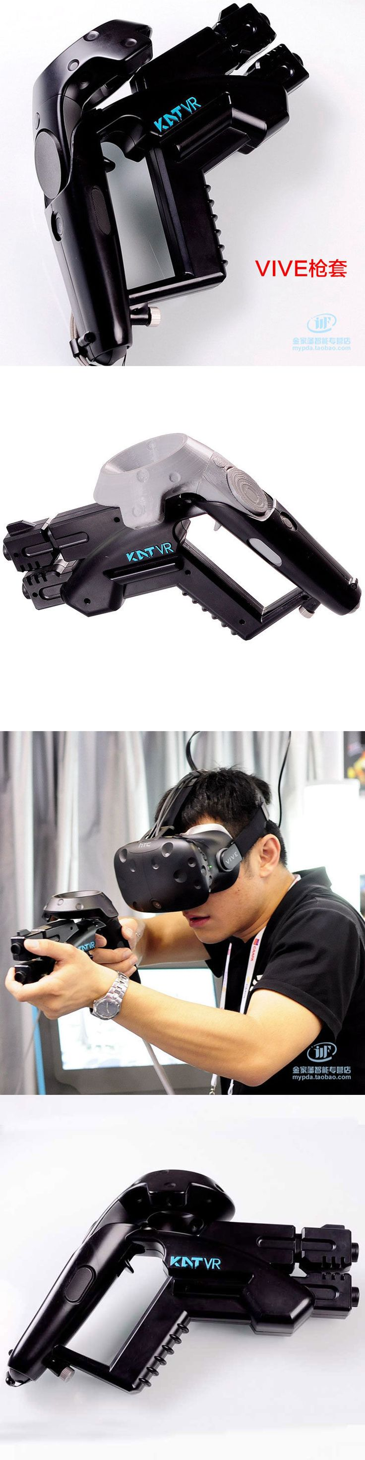 Other Virtual Reality Accs: New Vr Handgun Small Pistol Gun Shooting Game For Htc Vive Glasses Vr Shop -> BUY IT NOW ONLY: $53.89 on eBay!