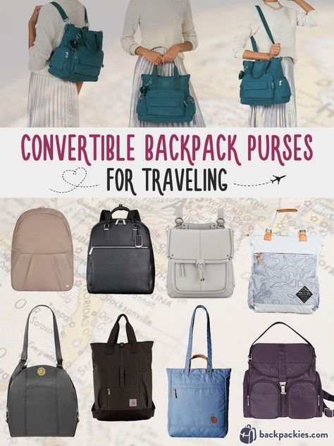 9 Travel Backpack Purses You Need For Your Next Trip