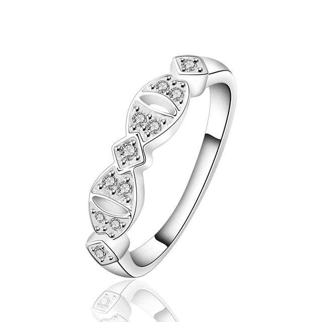 NIEUWE Arrivel 2016 VS EURO Stijl Mode verzilverd hebben nog hoop Ring Groothandel Sieraden SMTR624
