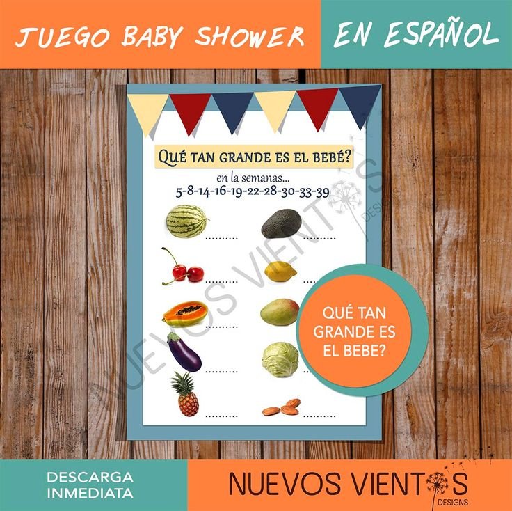 Baby Shower Games In Spanish: 1000+ Ideas About Juegos Baby On Pinterest