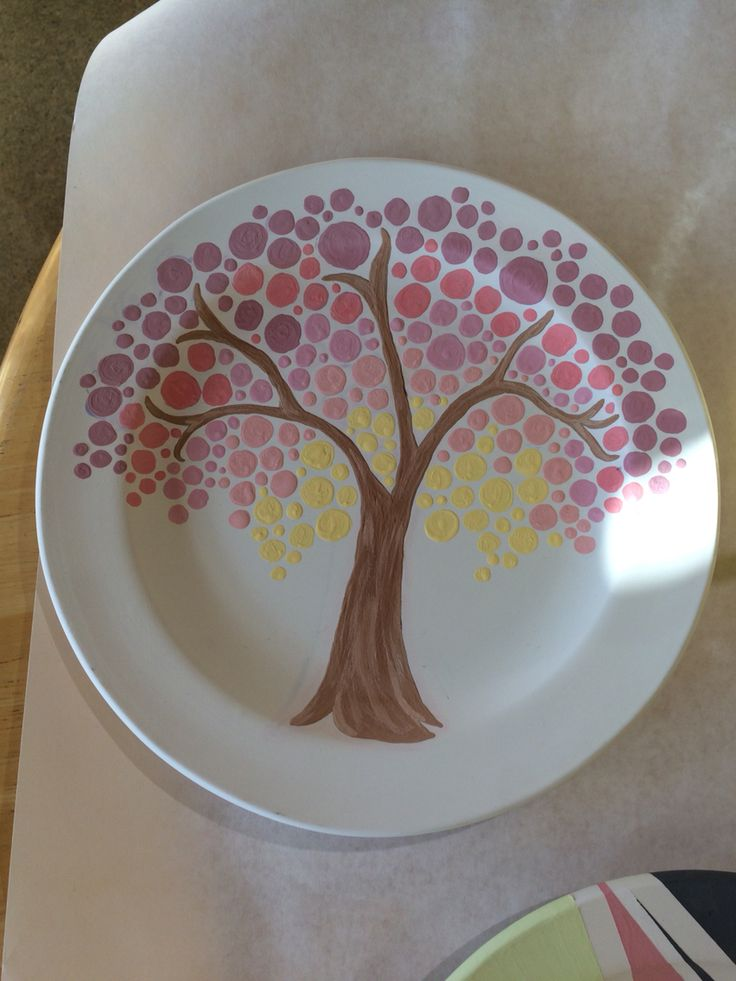 Color Me Mine  Fall plate