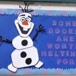 Frozen Olaf Bulletin Board Ideas for the Classroom