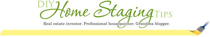 Website for DIY Home Staging Tips.  Great for selling a home or just for decorating the one you already live in!