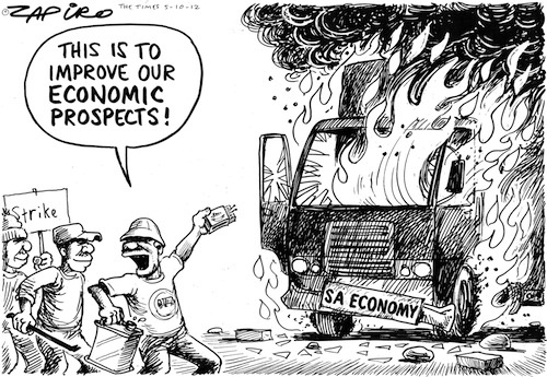 121005tt - The Burning South African Economy