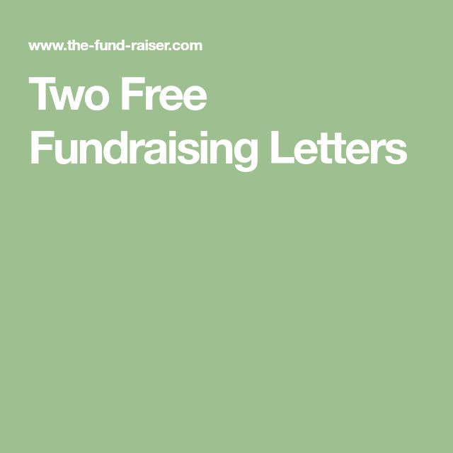 Unieke Ideen Over Fundraising Letter Op