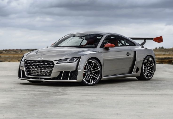 2016 Audi TT as the third generation has shown as the real sport car.