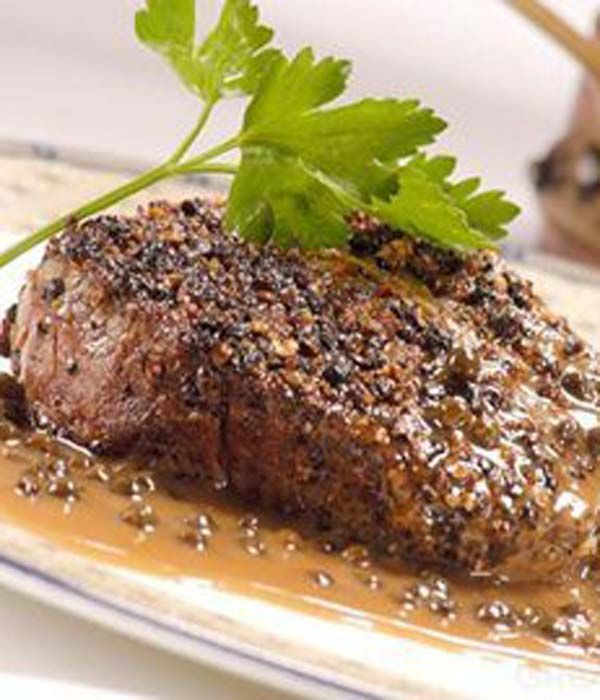 This delicious steak au Poivre recipe from Paul Heathcote is a wonderful way to prepare beef fillet steak at home.