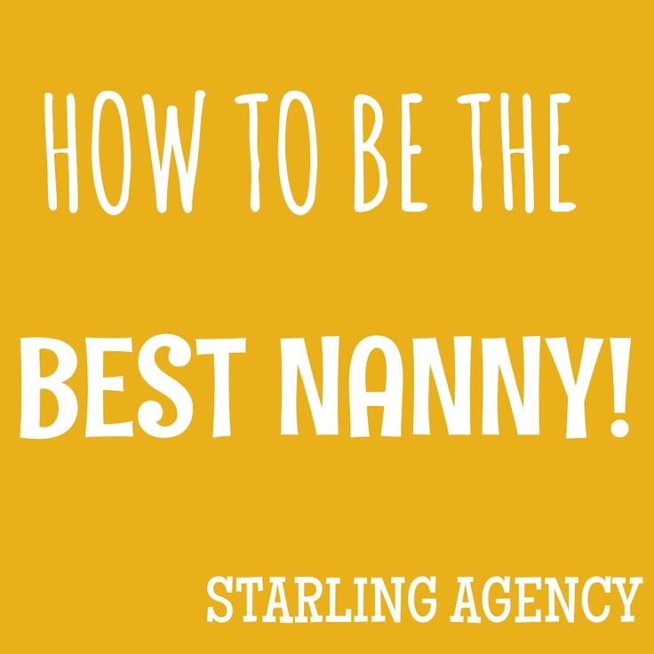 21 best Nannies on Call Resources images on Pinterest Au pair - babysitting duties