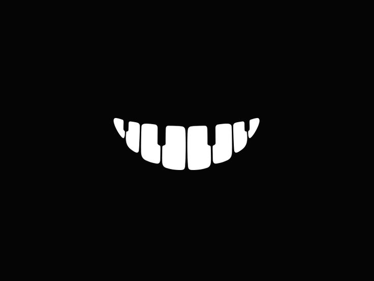 Music Smile Logo by Breno Bitencourt #dental #teeth