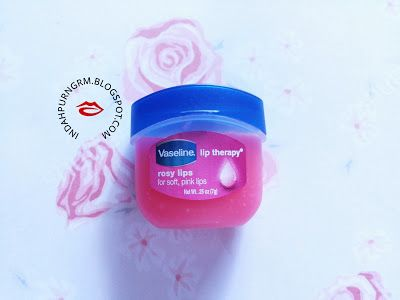 RANDOM THOUGHTS.: [Review]: Lip Therapy - Rosy Lips by Vaseline