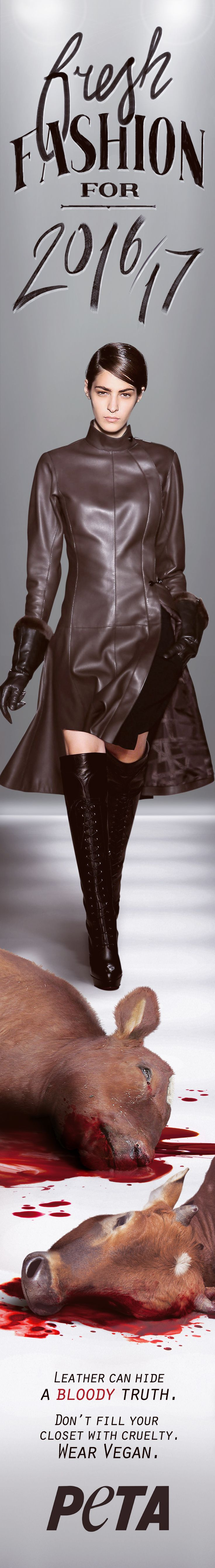 Fashion Trends for Fall/Winter 2016-2017. Punk-rock is back with leather minis, worn out tights, and the flicker of some sliver. Photo credit:fervent-adepte-de-la-modeviaVisualHunt/CC BY (https://www.flickr.com/photos/51528537@N08/8521443102/)