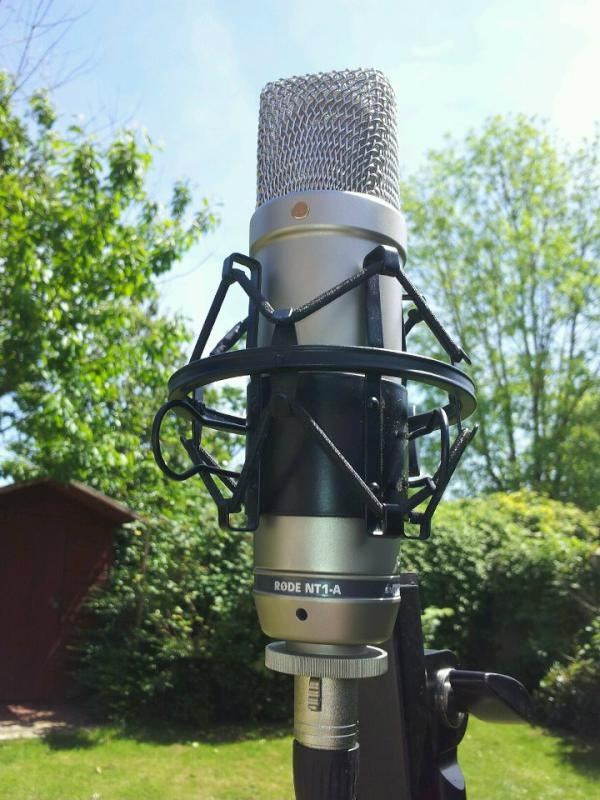 @Innovence: Recording outdoor ambience for the album, making the most of the sun!