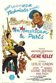 Ενας Αμερικανός στο Παρίσι Poster