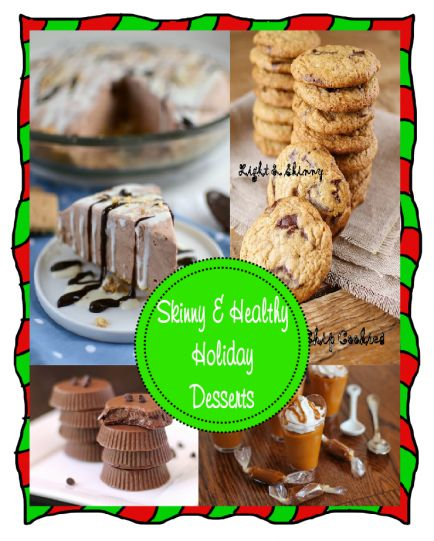 25 Skinny & Healthy Holiday Desserts